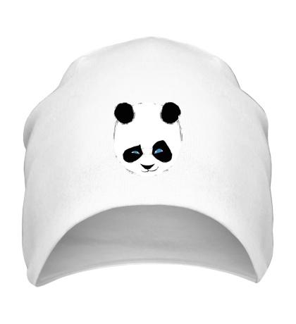 Шапка Панда подмигивает