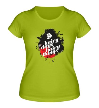 Женская футболка Hdht