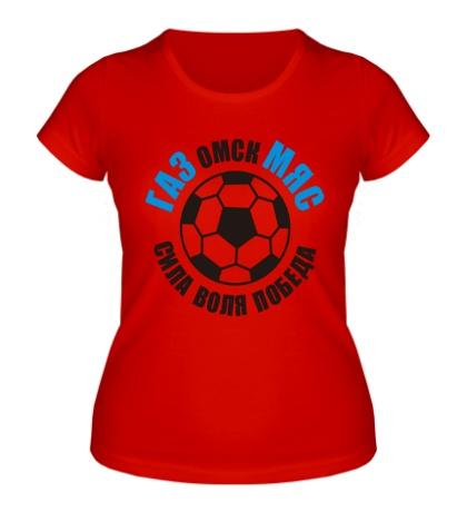 Женская футболка Омский ГазМяс