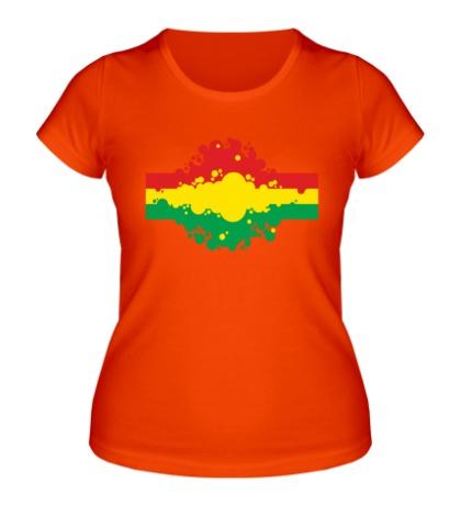 Женская футболка Rasta Colors