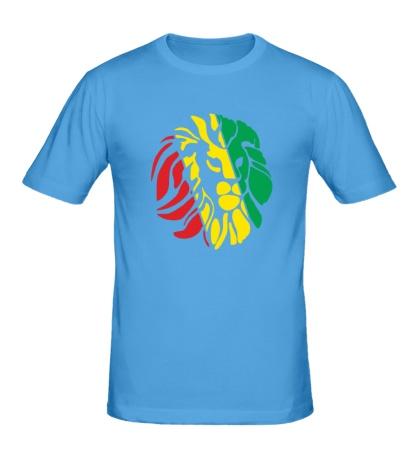 Мужская футболка Африканский лев