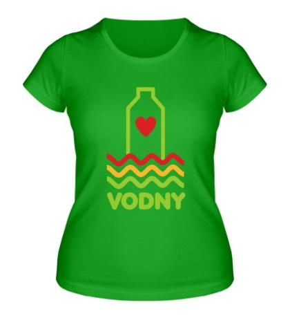 Женская футболка Vodny