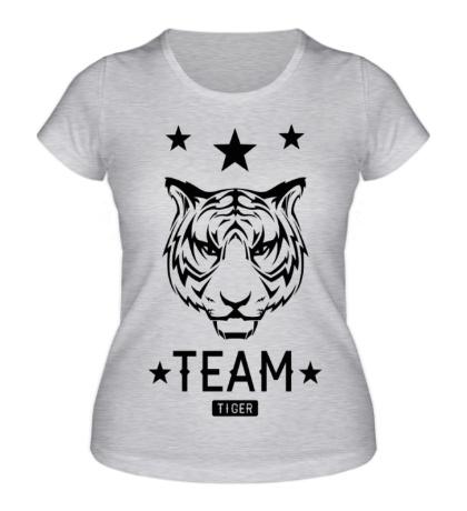 Женская футболка Tiger time