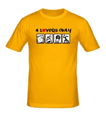 Мужская футболка 4 Lovers Only