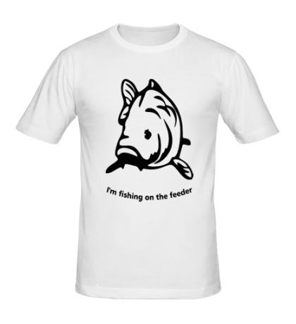 Мужская футболка Fishing of the Feeder