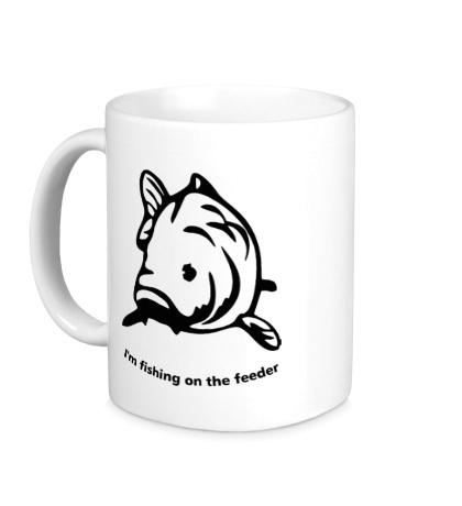 Керамическая кружка Fishing of the Feeder