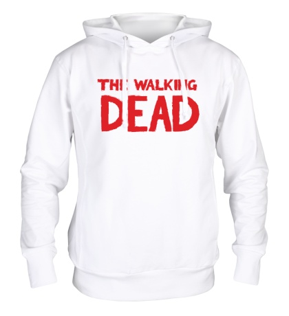 Толстовка с капюшоном The Walking Dead