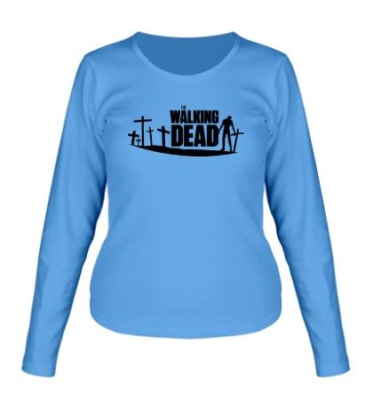 Женский лонгслив Walking Zombie