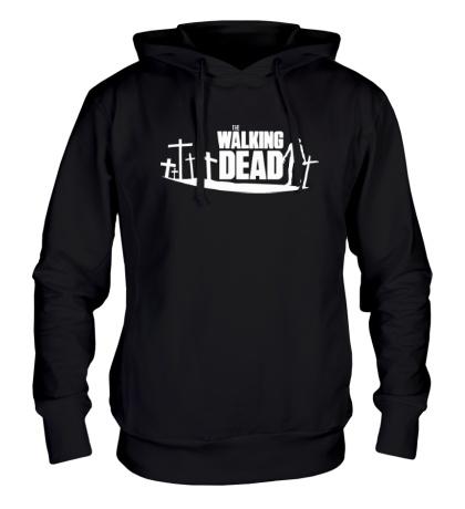 Толстовка с капюшоном Walking Zombie