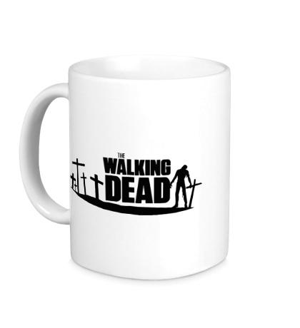 Керамическая кружка Walking Zombie