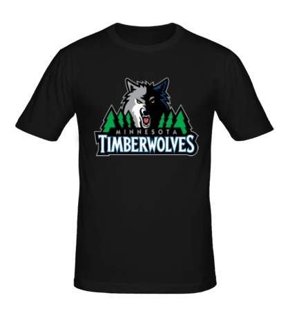 Мужская футболка Minnesota Timberwolves
