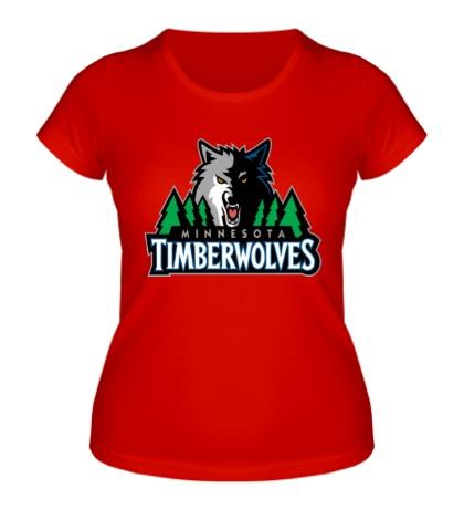 Женская футболка Minnesota Timberwolves