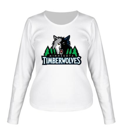Женский лонгслив Minnesota Timberwolves