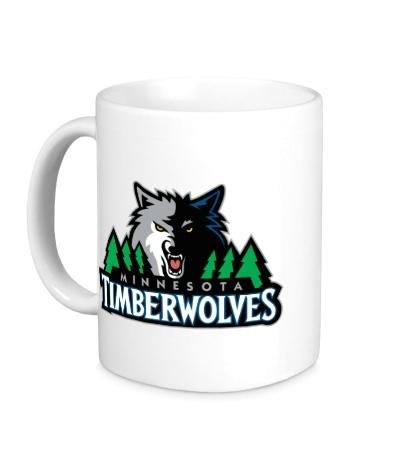Керамическая кружка Minnesota Timberwolves