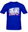 Мужская футболка «Love is» - Фото 1
