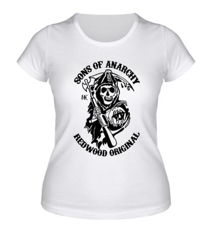 Женская футболка Sons of Anarchy