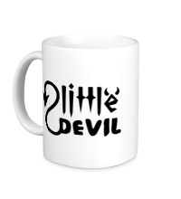 Керамическая кружка Маленький дьявол