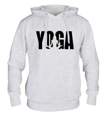 Толстовка с капюшоном Йога
