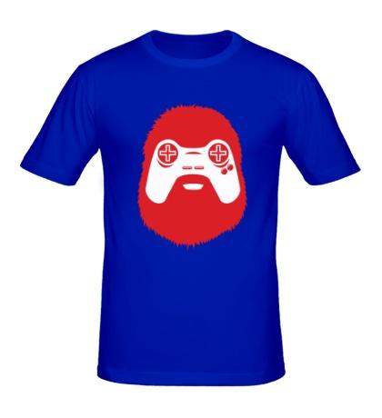 Мужская футболка Геймер-хипстер