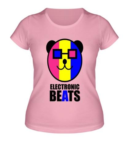 Женская футболка Electronic beats