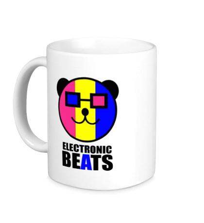 Керамическая кружка Electronic beats