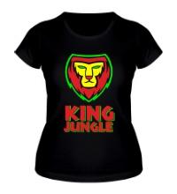Женская футболка King Jungle
