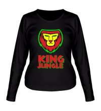 Женский лонгслив King Jungle