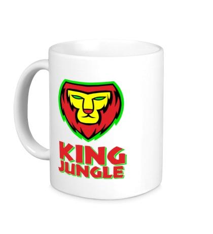Керамическая кружка King Jungle