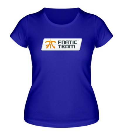 Женская футболка Fnatic Team Sign
