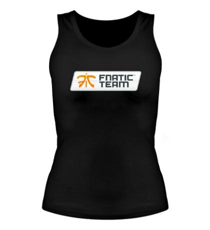 Женская майка Fnatic Team Sign
