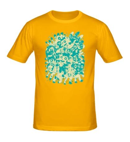 Мужская футболка Зомбики