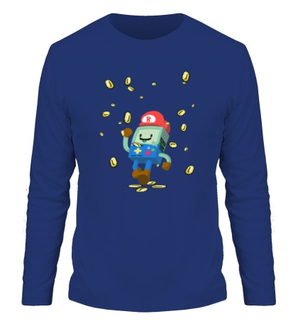 Мужской лонгслив Mario Coins