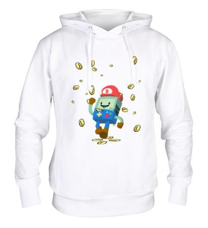 Толстовка с капюшоном Mario Coins