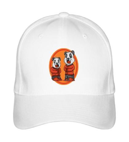 Бейсболка Смешные панды