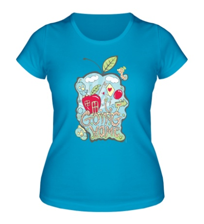 Женская футболка Ipple