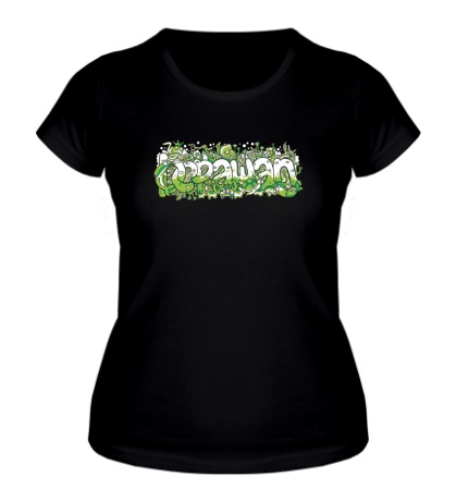 Женская футболка Graffiti