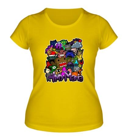 Женская футболка Domo