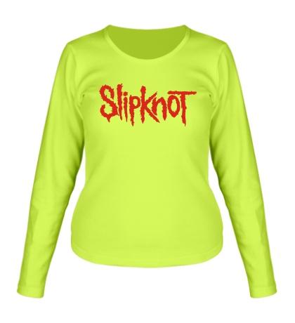 Женский лонгслив Slipknot