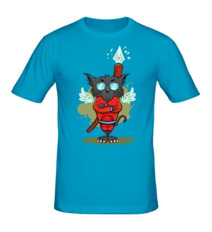 Мужская футболка Боевой кот