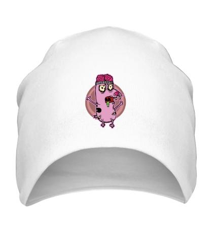 Шапка Розовые мозги
