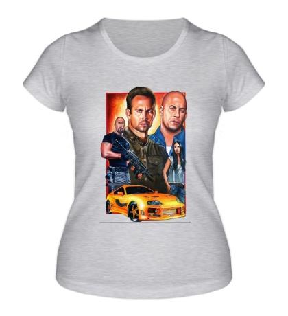 Женская футболка Fast & Furious