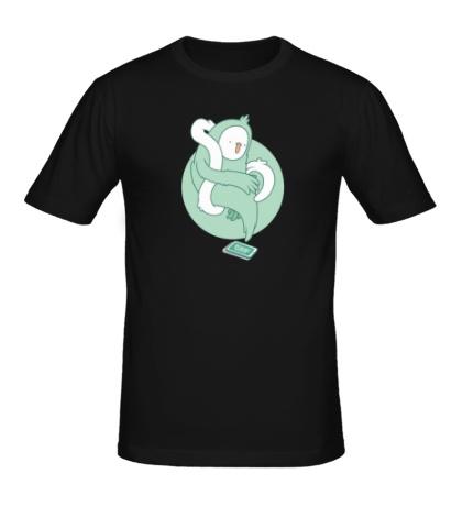 Мужская футболка Призрак