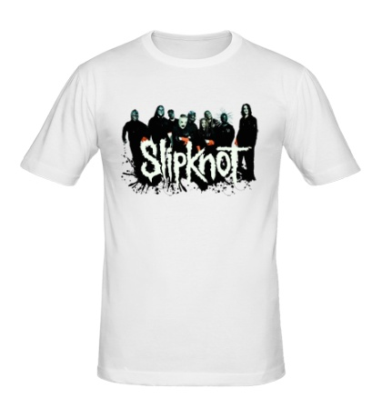 Мужская футболка Slipknot Guys