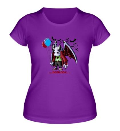 Женская футболка Small Balanar