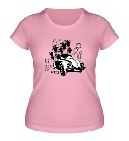 Женская футболка Better days