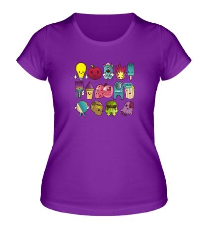 Женская футболка Team=