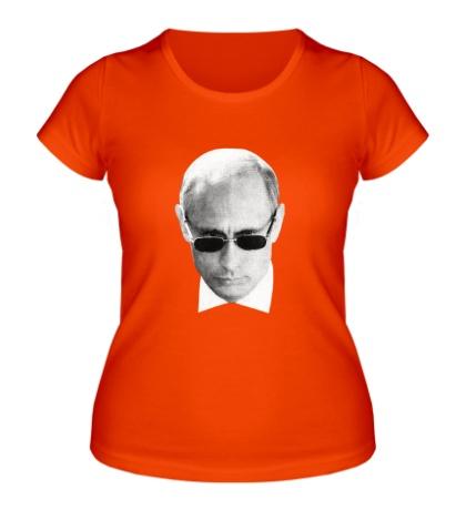 Женская футболка Путин наблюдает