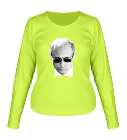 Женский лонгслив Путин наблюдает