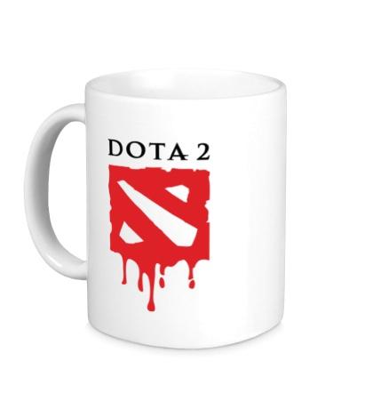 Керамическая кружка Blooded Dota 2