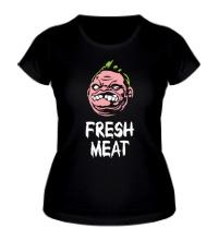 Женская футболка Pudge: Fresh Meat
